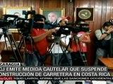 CCJ emite medida cautelar a Costa Rica