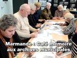 Marmande: café mémoire au Archives municipales