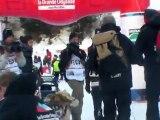 La Grande Odyssée Savoie Mont Blanc 2012 - étape 9 - arrivée Jean-Philippe Pontier
