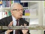 Exclu BFMTV : Jacques Delors revient sur les risques d'explosion de la zone euro