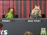 The Muppets: Kermit and Miss Piggy talk celebrity in Berlin