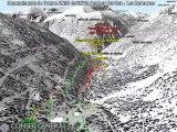 Parcours des épreuves de ski de fond des championnats de France UNSS 2012