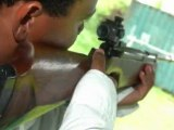 Entrainement Tir-Sportif Yannis Malahël à l'AS-Police 971 Guadeloupe Stade de l'ACAPI Ville des Abymes Aéroport Pôle-Caraïbe