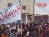 مظاهرة بنش إدلب سوريا 22-4-2011