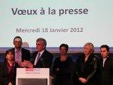 Vœux à la presse - Discours d'Hervé Morin