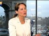 Royal  compare la campagne de 2007 et de 2012 chez les socialistes