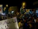 فري برس   إدلب   بنش أربعاء نشامى الفرات يالله ارحل يابشار 12 10 2011