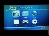 AAXA M2 Pico Micro Projector with LED, XGA 1024x768 Resolution, 110 Lumens, Media Player and HDMI