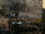 فري برس   حمص باباعمرو القصف على الحي بوجود اللجنة 28 12 2011