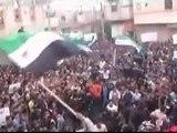 فري برس   حمص تلبيسة مظاهرة حاشدة رائعة جمعة ان تنصروا الله ينصركم ثورة ثورة سوريا 6 1 2012