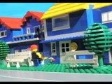 Droits d'auteur, animation Lego sur le téléchargement