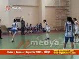 TÜRKİYE BAYANLAR BASKETBOL 2.LİGİ - Niğde Türk Telekom-Antalya Koleji   HaBER/KAMERA : Hayrettin YENEL - NİĞDE  22 OCAK 2012