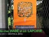 WABÉ et Jean-Jacques LAPOIRIE, Portes Ouvertes Ateliers d'Artistes 2011 à Montreuil