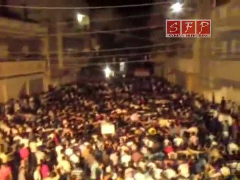 فري برس   حمص خالدية مسائية 1 ايلول وين عرب الله1 9 2011