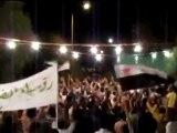 فري برس  حمص مسائية الانشاءات سوريا نحن معاك للموت 12 10 2011