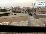 فري برس   إدلب اقتحام مدينة خان شيخون 22 12 2011