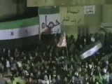 فري برس   حماه    باب قبلي كل ليلة مظاهرات حتى يسقط النظام 24 12 2011