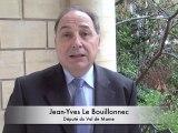 Jean-Yves Le Bouillonnec, député PS du Val-de-Marne, rappelle les propositions des députés socialistes en faveur du logement