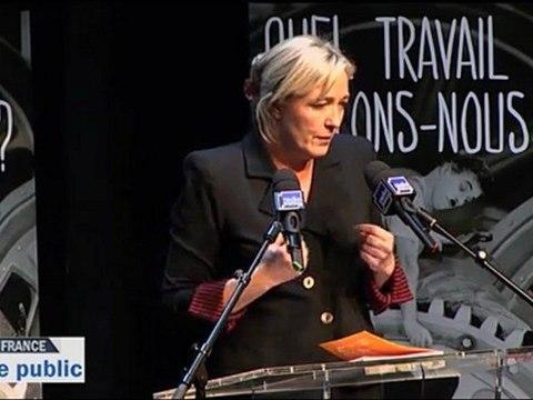 Espace Public - Marine Le Pen