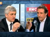 Hervé Morin, invité de Bourdin 2012 - RMC et BFM TV