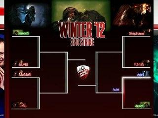 Quart de finale - AureS vs Adel - match 3 - eOSL Winter'12