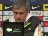 """Deportes / Fútbol, Real Madrid; Mourinho: """"No hablo del árbitro"""""""