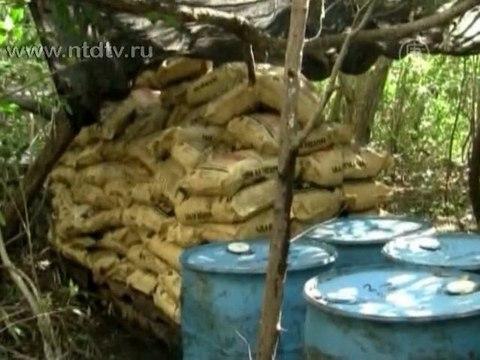 В заповеднике Мексики нашли нарколабораторию