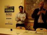 Aulnay-sous-Bois : voeux 2012 Aulnay-Ecologie-Les-Verts Discours Alain Amédro 24/01/2012