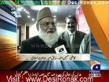 Aaj Kamran Khan Kay Sath - 26th January 2012 part 1