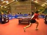 Tennis de table amateur : 52 échanges dans un point !