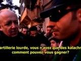 Al-Zabadani, première ville à goûter à la liberté en Syrie - 20/01/2012 - sous-titres français