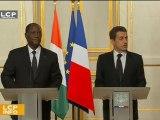 Le président ivoirien Alassane Ouattara reçu ce matin à l'Assemblée nationale