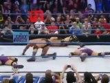 Randy Orton RKOs Tyler Reks, Curt Hawkins Trent Barreta & The Usos 1-27-12