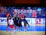 But Mikkel Hansen / Dernier coup franc / Danemark-Espagne / Euro 2012 Handball Serbie