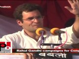 U.P assembly polls 2007: Rahul Gandhi campaigns for Congress