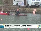 FINALE 2 (200m) K1 DAME JUNIOR - REGATE INTERNATIONALE DU PAS-DE-CALAIS 2012