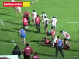 Rugby Pro D2 : Tarbes - Aurillac (28 janvier 2012)