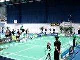 Aulnay-sous-Bois : Top 12 Badminton CBAB Aulnay - Mulhouse 28 janvier 2012 (2)