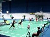 Aulnay-sous-Bois : Top 12 Badminton CBAB Aulnay - Mulhouse 28 janvier 2012 (3)