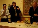 Aulnay-sous-Bois, vœux 2012 Aulnay-Ecologie-Les-Verts (3) : vidéo échange Roland Gallosi (PCF) Alain Amédro (EELV) 24.01.2012