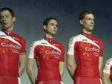 Cyclisme : l'équipe Cofidis 2012