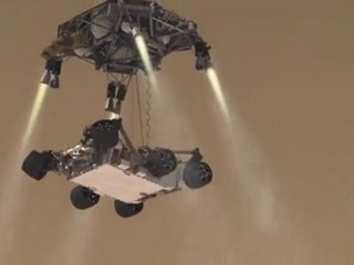 Curiosity's journey to Mars (animation)