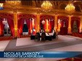 Nicolas Sarkozy n'a cessé de se référer à l'Allemagne pour justifier ses choix