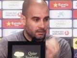 """Deportes / Fútbol, Barcelona; Guardiola: """"Isaac Cuenca ya es jugador del primer equipo"""""""