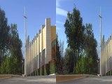 the Shrine of Saint Padre Pio of Pietrelcina in 3D San Giovanni Rotondo FG Italy (c)3Dstreaming.it