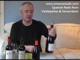 Simon Woods Wine Videos: Spanish reds from Valdepenas & ...