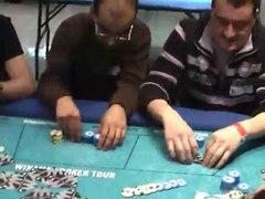 aAa au Winamax Poker Tour Mulhouse AA vs JJ