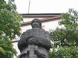 Baden Baden, Allemagne : statue Bismarck.