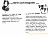 Sony MDR-XD200 Stereo vs. GOgroove audiOHM Ergonomic Earbuds
