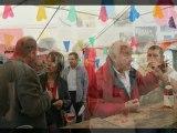 Diaporama  :  (préparation expos)   (expos photos)  (apéritif Basque)